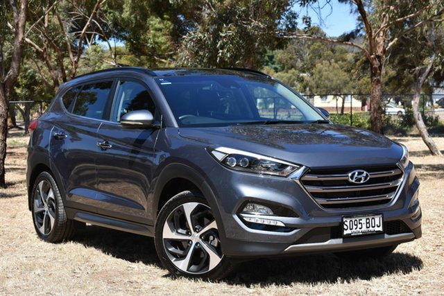 Used Hyundai Tucson TLE Highlander D-CT AWD, 2016 Hyundai Tucson TLE Highlander D-CT AWD Grey 7 Speed Sports Automatic Dual Clutch Wagon