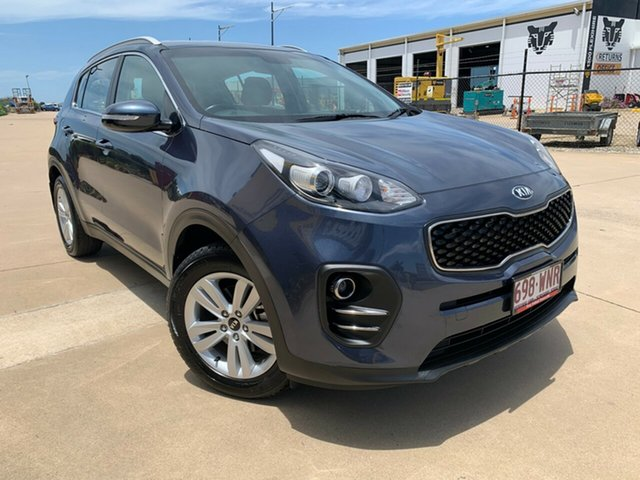 Used Kia Sportage QL MY16 Si 2WD, 2016 Kia Sportage QL MY16 Si 2WD Blue 6 Speed Sports Automatic Wagon