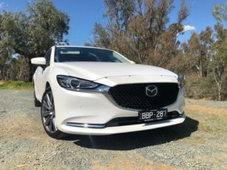 Mazda 6 GT White 6 Speed Automatic Wagon.