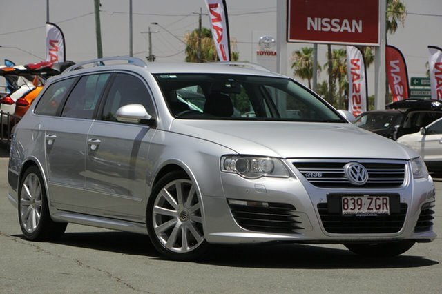 Used Volkswagen Passat Type 3C MY09 R36 DSG 4MOTION, 2008 Volkswagen Passat Type 3C MY09 R36 DSG 4MOTION Silver 6 Speed Sports Automatic Dual Clutch
