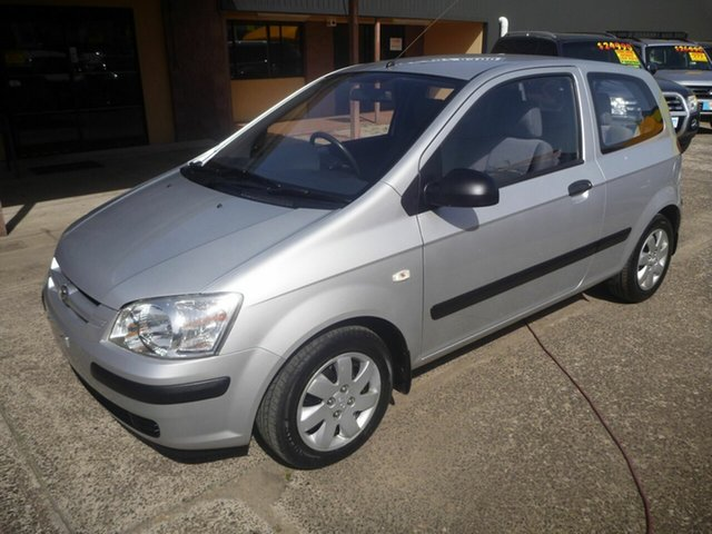 Used Hyundai Getz TB XL, 2003 Hyundai Getz TB XL Silver 5 Speed Manual Hatchback