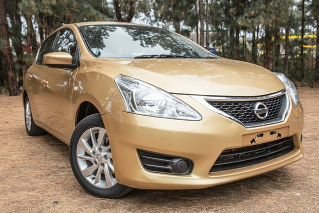 Used Nissan Pulsar C12 Series 2 ST, 2016 Nissan Pulsar C12 Series 2 ST Gold 1 Speed Constant Variable Hatchback