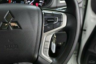2019 Mitsubishi Triton MR MY19 GLX+ Double Cab White 6 Speed Manual Utility