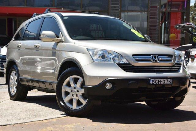 Used Honda CR-V RE MY2007 Luxury 4WD, 2008 Honda CR-V RE MY2007 Luxury 4WD Gold 5 Speed Automatic Wagon