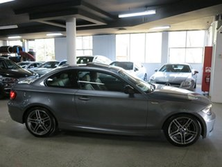 2013 BMW 1 Series E82 LCI MY1112 120i Steptronic Space Grey 6 Speed Sports Automatic Coupe