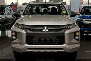 2019 Mitsubishi Triton MR MY19 GLX+ Double Cab Silver 6 Speed Manual Utility.