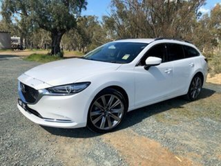 Mazda 6 GT White 6 Speed Automatic Wagon