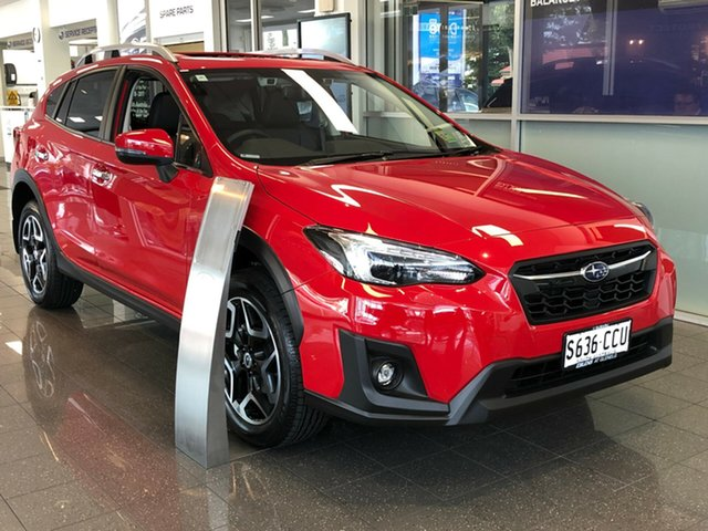 Demo Subaru XV G5X MY19 2.0i-S Lineartronic AWD, 2019 Subaru XV G5X MY19 2.0i-S Lineartronic AWD Pure Red 7 Speed Constant Variable Wagon