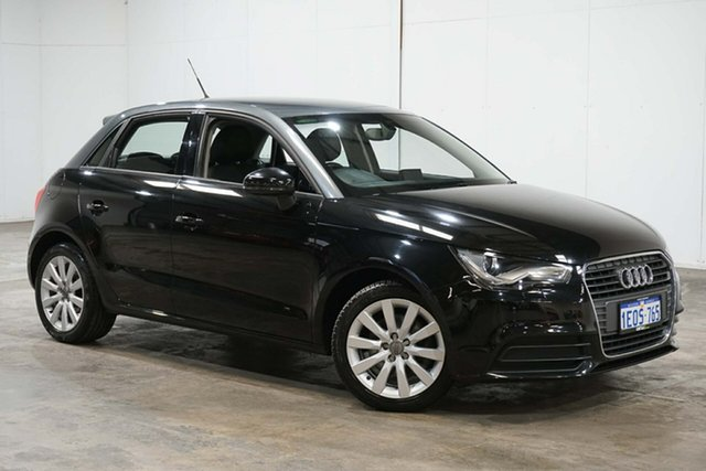 Used Audi A1 8X MY14 Attraction Sportback, 2014 Audi A1 8X MY14 Attraction Sportback Black 6 Speed Manual Hatchback