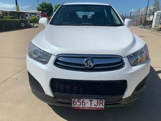 2014 Holden Captiva CG MY15 7 LS Snowflake Pearl/jet 6 Speed Sports Automatic Wagon