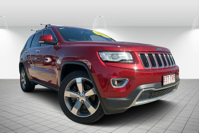 Used Jeep Grand Cherokee WK MY2014 Limited, 2014 Jeep Grand Cherokee WK MY2014 Limited Red 8 Speed Sports Automatic Wagon