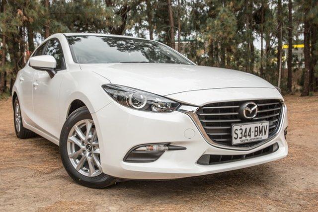 Used Mazda 3 BM5476 Neo SKYACTIV-MT, 2016 Mazda 3 BM5476 Neo SKYACTIV-MT White 6 Speed Manual Hatchback