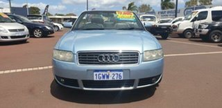 2003 Audi A4 B6 Multitronic Blue 1 Speed Constant Variable Cabriolet.