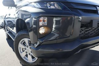 2019 Mitsubishi Triton MR MY19 GLX+ Double Cab Graphite Grey 6 Speed Manual Utility.