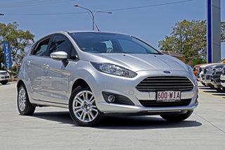 2015 Ford Fiesta WZ MY15 Trend PwrShift Silver 6 Speed Sports Automatic Dual Clutch Hatchback.