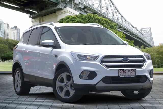 Used Ford Escape ZG 2018.00MY Trend 2WD, 2018 Ford Escape ZG 2018.00MY Trend 2WD White 6 Speed Sports Automatic Wagon