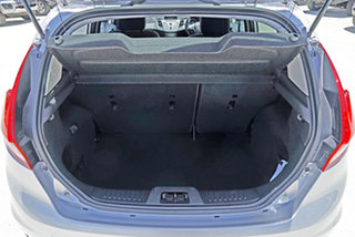 2015 Ford Fiesta WZ MY15 Trend PwrShift Silver 6 Speed Sports Automatic Dual Clutch Hatchback