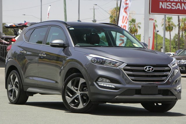 Used Hyundai Tucson TLE2 MY18 Highlander D-CT AWD, 2018 Hyundai Tucson TLE2 MY18 Highlander D-CT AWD Grey 7 Speed Sports Automatic Dual Clutch Wagon