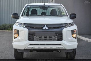 2019 Mitsubishi Triton MR MY19 GLX+ Double Cab White 6 Speed Sports Automatic Utility