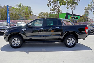 2019 Ford Ranger PX MkIII 2019.75MY XLT Pick-up Double Cab Black 6 Speed Sports Automatic Utility