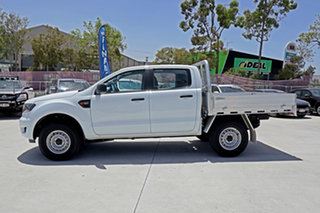 2018 Ford Ranger PX MkIII 2019.00MY XL Double Cab White 6 Speed Sports Automatic Cab Chassis