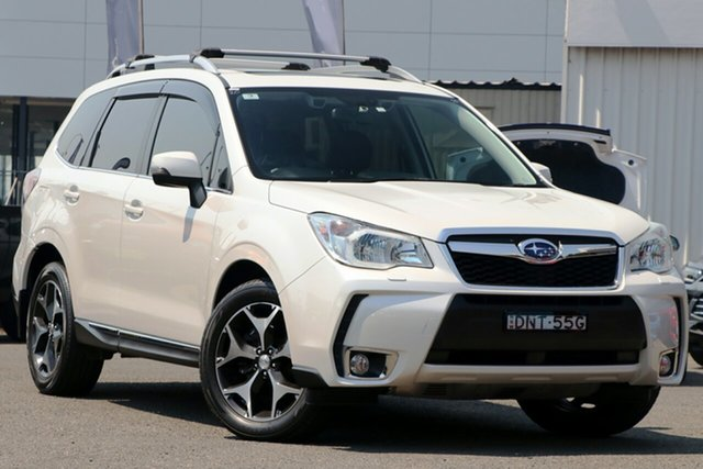 Used Subaru Forester S4 MY13 2.5i-L Lineartronic AWD, 2013 Subaru Forester S4 MY13 2.5i-L Lineartronic AWD White 6 Speed Constant Variable Wagon