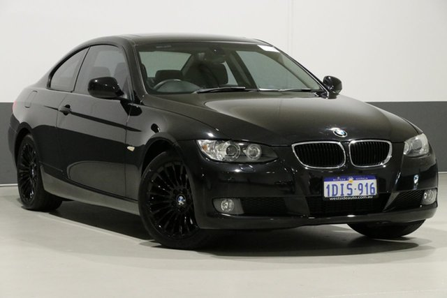 Used BMW 320d E92 MY10 , 2010 BMW 320d E92 MY10 Black 6 Speed Auto Steptronic Coupe