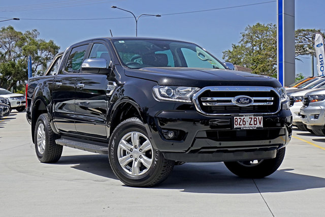 Used Ford Ranger PX MkIII 2019.75MY XLT Pick-up Double Cab, 2019 Ford Ranger PX MkIII 2019.75MY XLT Pick-up Double Cab Black 6 Speed Sports Automatic Utility