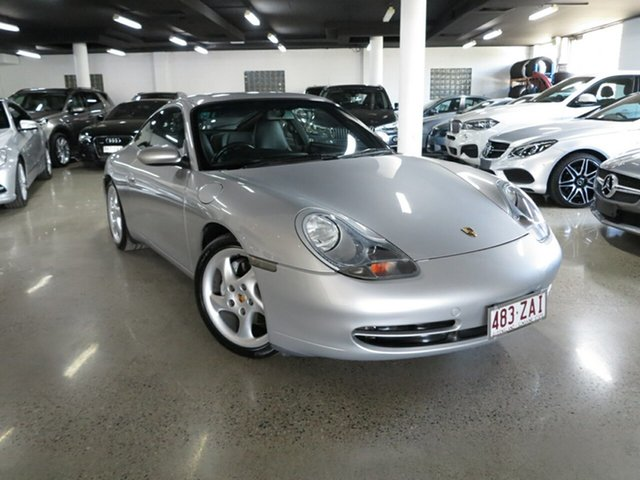 Used Porsche 911 996 Carrera 4 AWD, 2001 Porsche 911 996 Carrera 4 AWD Silver 6 Speed Manual Coupe