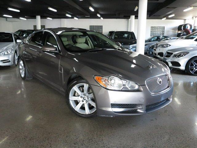 Used Jaguar XF X250 MY10 Luxury, 2010 Jaguar XF X250 MY10 Luxury Silver 6 Speed Sports Automatic Sedan