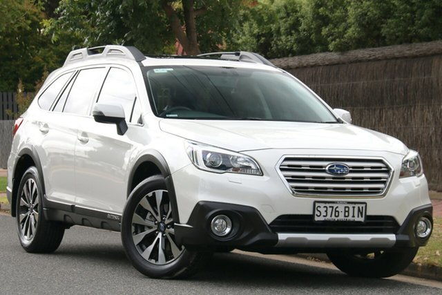 Used Subaru Outback B6A MY15 2.0D CVT AWD Premium, 2015 Subaru Outback B6A MY15 2.0D CVT AWD Premium Crystal White 7 Speed Constant Variable Wagon