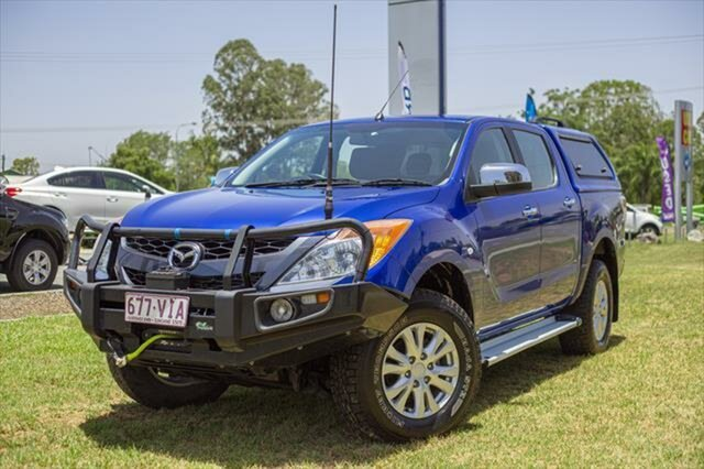 Used Mazda BT-50 UP0YF1 XTR, 2014 Mazda BT-50 UP0YF1 XTR Blue 6 Speed Sports Automatic Utility