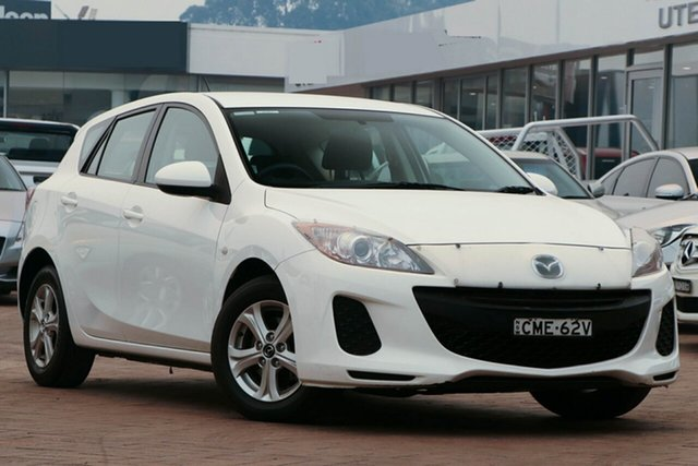 Used Mazda 3 BL10F2 MY13 Neo Activematic, 2012 Mazda 3 BL10F2 MY13 Neo Activematic White 5 Speed Sports Automatic Sedan