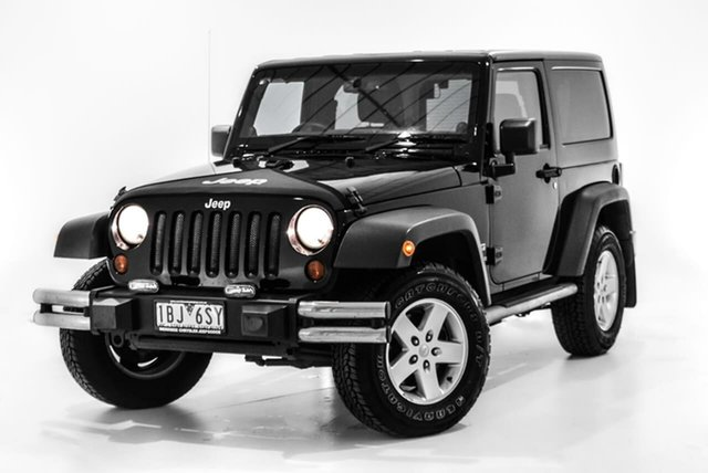 Used Jeep Wrangler JK MY2014 Sport, 2013 Jeep Wrangler JK MY2014 Sport Black 5 Speed Automatic Softtop