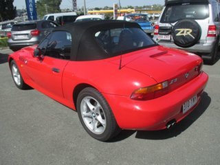 1997 BMW Z3 E36-7 Red 4 Speed Automatic Roadster