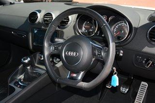 2012 Audi TT 8J MY12 Quattro White 6 Speed Manual Coupe