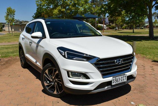 Demo Hyundai Tucson TL3 MY20 Highlander AWD, 2019 Hyundai Tucson TL3 MY20 Highlander AWD Pure White 8 Speed Sports Automatic Wagon