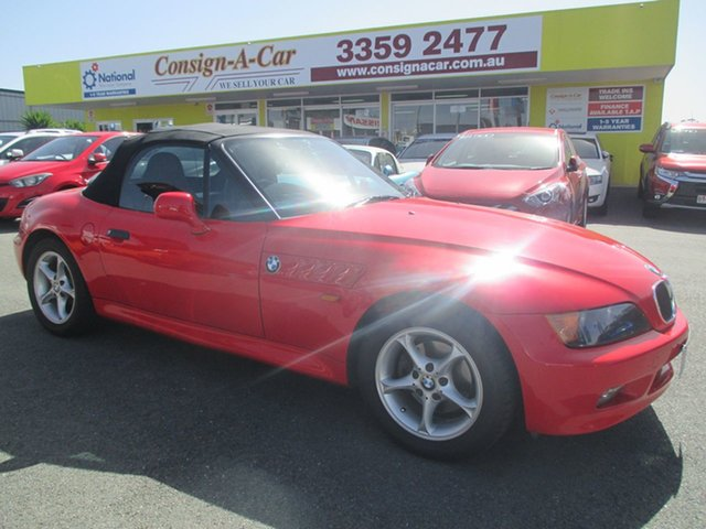 Used BMW Z3 E36-7 , 1997 BMW Z3 E36-7 Red 4 Speed Automatic Roadster