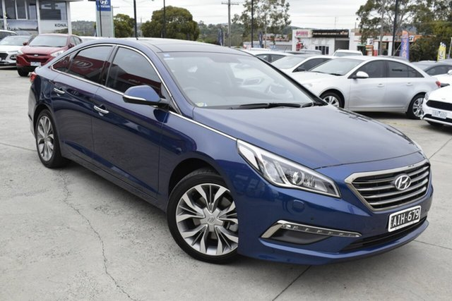 Used Hyundai Sonata LF Premium, 2015 Hyundai Sonata LF Premium Blue 6 Speed Sports Automatic Sedan