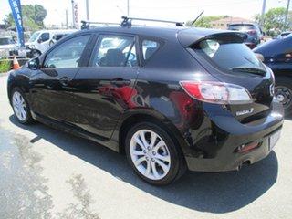 2009 Mazda 3 BL10L1 SP25 Black 6 Speed Manual Hatchback.