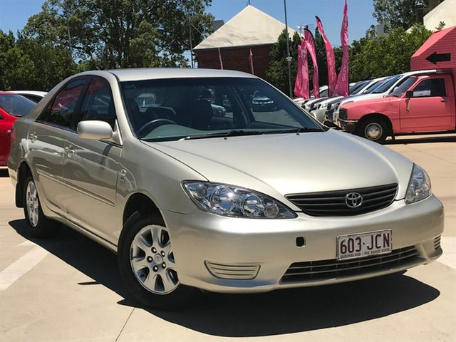 Used Toyota Camry ACV36R Altise, 2005 Toyota Camry ACV36R Altise Beige 4 Speed Automatic Sedan