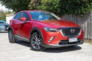 2017 Mazda CX-3 DK2W7A Akari SKYACTIV-Drive Red 6 Speed Sports Automatic Wagon.