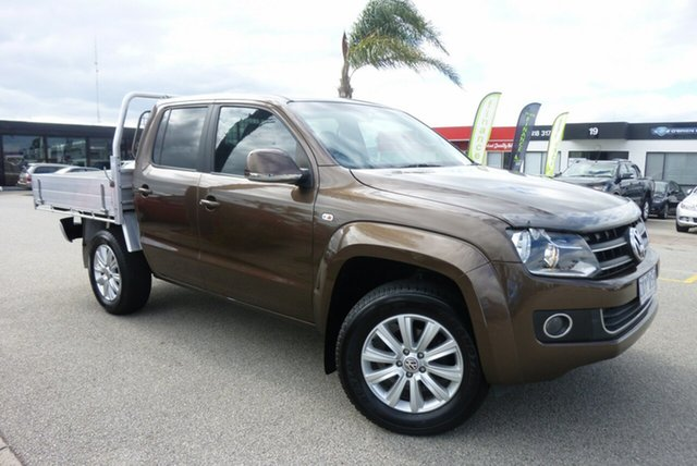 Used Volkswagen Amarok 2H MY12 TDI400 4Mot Highline, 2011 Volkswagen Amarok 2H MY12 TDI400 4Mot Highline Bronze 6 Speed Manual Utility