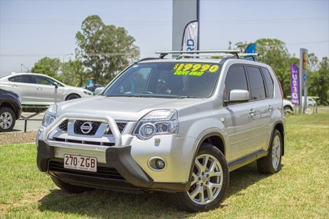 Used Nissan X-Trail T31 Series IV TI, 2012 Nissan X-Trail T31 Series IV TI Silver 1 Speed Constant Variable Wagon