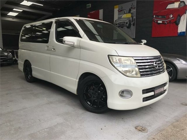Used Nissan Elgrand E51 Highway Star, 2007 Nissan Elgrand E51 Highway Star White Automatic Wagon