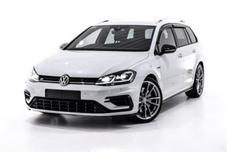 2017 Volkswagen Golf 7.5 MY18 R DSG 4MOTION Wolfsburg Edition White 7 Speed.