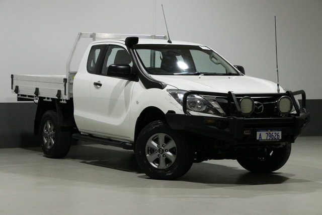 Used Mazda BT-50 MY16 XT (4x4), 2016 Mazda BT-50 MY16 XT (4x4) White 6 Speed Manual Dual Cab Utility