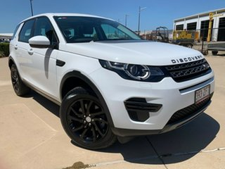 2016 Land Rover Discovery Sport L550 17MY TD4 150 SE White 9 Speed Sports Automatic Wagon.