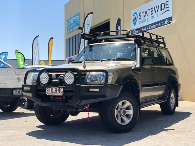 Used Nissan Patrol GU III ST (4x4), 2004 Nissan Patrol GU III ST (4x4) Gold 5 Speed Manual Wagon