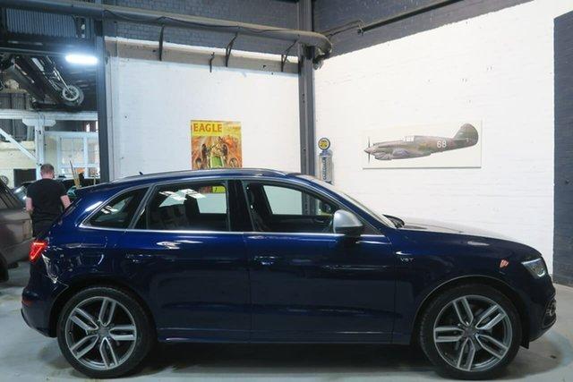 Used Audi SQ5 8R MY14 TDI Tiptronic Quattro, 2014 Audi SQ5 8R MY14 TDI Tiptronic Quattro Blue 8 Speed Sports Automatic Wagon
